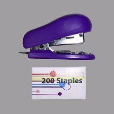 New Mini Stapler Amp 200 Staples Perfect For Schooltravel 12 Piece Of Paper Max