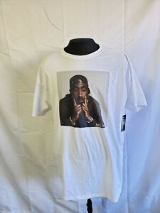 Tupac Shakur Poetic Justice White Classic Graphic Tee XL T-shirt