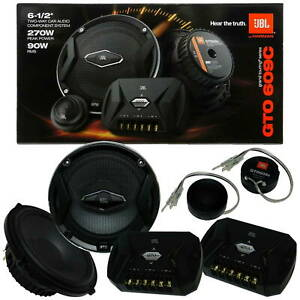 """JBL GTO609C 6.5"""" CAR AUDIO 2-WAY COMPONENT SPEAKER SYSTEM BRAND NEW WITH BOX"""