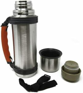 Going Gear Insulated Thermos - Hot Cold Vacuum Insulated - Retractable Handle