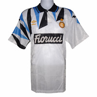 1992-1993  Inter Milan Away Shirt Umbro XL (Excellent Condition)