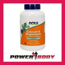 Now Foods-calcio y magnesio, citrato de polvo con la vitamina D3 - 227 gramos