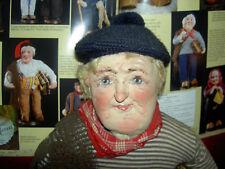Large size, Yvonne Spaggiari, Italian, Ravca type, antique cloth fisherman doll