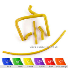 Yellow For Honda CR250 CR 250 2002-2007 Silicone Radiator Coolant Tubing Hoses