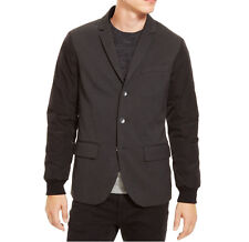 [03 60]Kenneth Cole Reaction Men's 3-Button Sport Coat blazer jacket, black XL