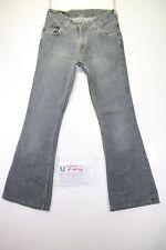 Lee Felton Zampa(Cod.U774)Tg43 W29 L33 jeans usato ACCORCIATO donna vintage