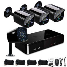 ELEC 8CH 1500TVL CCTV DVR 960H Outdoor IR Night Vision Security Camera System