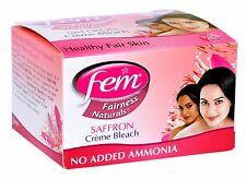 Fem Saffron Cream Bleach From Dabur (3 uses)