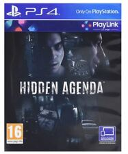 Hidden Agenda (Playlink) PS4 NEW SEALED UK PAL for Sony Playstation 4 role play