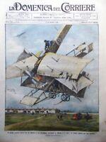 La Domenica del Corriere 9 Ottobre 1910 Disordini Berlino Aviazione Lecce Puglia