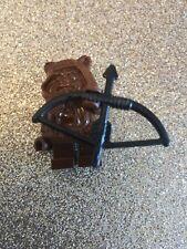 Vintage LEGO STAR WARS Minifigure Endor EWOK Tan Hood PAPLOO And Weapon