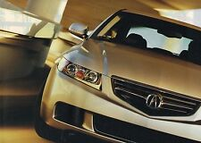 Big 2004 Acura TSX Brochure / Catalog with Color Charts