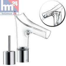 Hansgrohe Axor Starck V Dos orificios-Grifería lavabo 110 de Vidrio Cristal