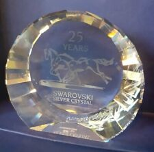 SWAROVSKI 2001 PAPERWEIGHT - WILD HORSES - 25 YEARS OF SILVER CRYSTAL SCS