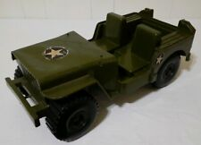 "1973 Empire Toys Military Army Jeep Fits 12"" G.I. Joe Figures"