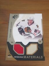 2010 11 SPx Winning Materials #WM PK Patrick Kane - Chicago Blackhawks         B