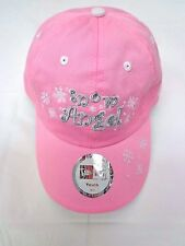 Snow Angel Pink Snowflake New Era Girls Youth Hat