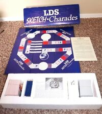 LDS Sketch Charades Game Mormon Board Game Latter-Day Saints