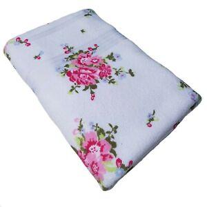 100% Portuguese Cotton Towels Face Cloth Hand Bath Towel Bath Sheet Rose Flower
