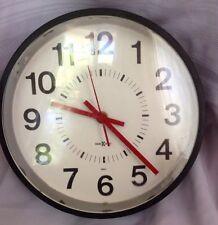 Howard Miller SUPERVISOR Wall Clock 1985-1999 Working