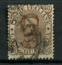Italy 1889 SG#39, 40c Brown Used #A54461