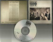 Thin Lizzy Guitarist 21 GUNS Knee Deep PROMO Radio DJ CD Single 1992 USA MINT
