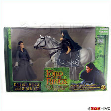Lord of the Rings Fellowship of the Ring Arwen Asfaloth horse set green box