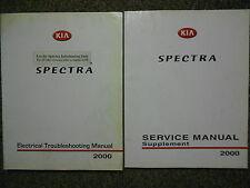1998 KIA Spectra Service Repair Shop Manual Set Factory OEM