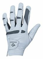 Men's Genuine Cabretta Leather Golf Glove with Moisture Control - Left Hand XL