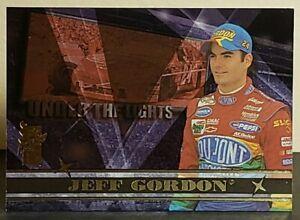 Jeff Gordon 2000 Press Pass VIP Under The Lights #UL1 Insert (#24 Dupont Chevy)