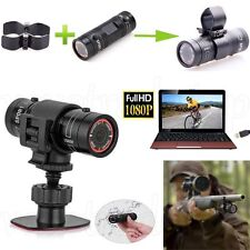 Full HD 1080P DVR Video DV Gun Clip Mount Bike Helmet Sports Action Camera New