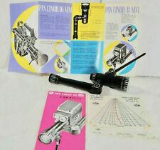 Som Berthiot Pan-Cinor f1.9 8 - 40mm Zoom D Mount Cine Lens Pentax Q, Micro 4/3