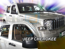 Wind Deflectors JEEP CHEROKEE 5-doors 2008-2013 4-pc HEKO Tinted