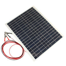 Outdoor 30W 12V Charger High Efficiency Kit-Diy Foldable Solar Panel For Camping