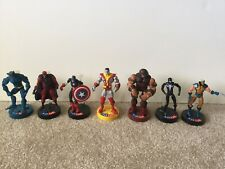 Marvel Legends Action figure lot 7 pcs, 4-5 Inches Tall, Articulated With Stand