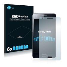 6x Samsung GT-i9100 Displayschutzfolie Klar Transparent Schutzfolie Displayfolie