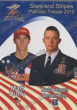 2012 Salem Keizer Volcanoes SGA Military Team Set Giants Minor Rare Matt Duffy