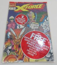 X-Force #1 Aug. 1992 Sealed Mint Condition SHATTERST Trading Card Marvel Comics