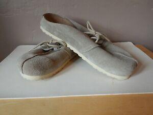 BIRKENSTOCK BIRKI'S 265 Leather/Suede Slip On Sandals w/Laces~Men's 8/Women's 10