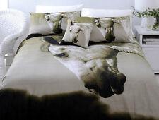 Stunning DAPPLE Horse KING Size Quilt Doona Cover Set