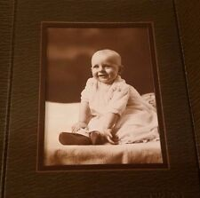 "Antique 3"" X 4"" Baby Photo Picture CUTE"
