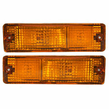 FITS FOR NS / DATSUN 720 PICKUP 1980 - 1986 SIGNAL LIGHT RIGHT & LEFT PAIR SET