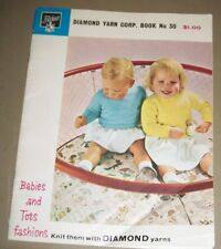 Vintage Fairknit Babies and Tots Knitting Book No.30, 1951