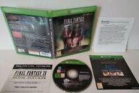 Final Fantasy XV - Jeu XBOX ONE - PAL français - Comme neuf