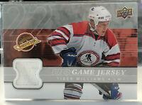 2008-09 Upper Deck Hockey Authentic GU Jersey Tiger Williams #GJ2-TW