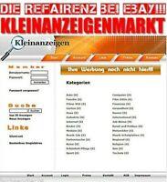 ANZEIGENMARKT Internet Ebay Kleinanzeigenmarkt Markt System Kleinanzeigen Markt