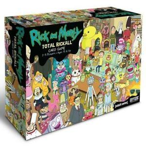 Rick & Morty Total Rickall Co-operative Card Game (04)
