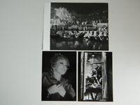 3x Foto Paño Alf Stager Ópera Hoffmanns Cuentos Festival De Bregenz 1976
