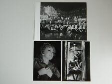 3x photo tampon ALF Stäger Opéra Hoffmanns Erzählungen Festival de Bregenz 1976