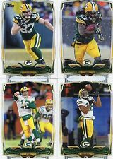 2014 Topps 29 card MASTER Team set Green Bay Packers Rodgers w/10 inserts & 5 RC